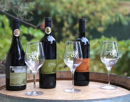 Les vins du domaine de Massereau