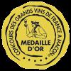 Médaille d'or du Concours des vin de Mâcon